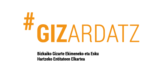 Gizardatz logo euskera