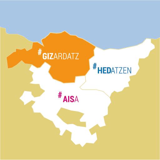 Mapa Euskadi